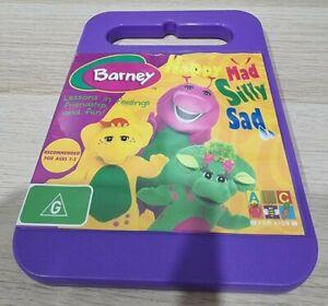 Barney Happy Mad Silly Sad DVD Region 4 PAL