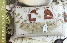 Christmas Tea With Thy Needle & Thread Cross Stitch Pattern