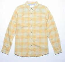 Burton Long Sleeve Plaid Shirt (M) Yellow