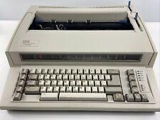 Vintage Ibm Personal Wheelwriter 2 Lexmark 6781 025 Electric Typewriter 9 Ribbon