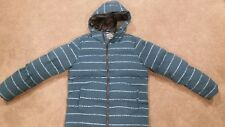 LARGE MENS ASOS PUFFA PUFFER JACKET SIZE SMALL LONG FIT CHEST 96CM LARGE FIT
