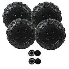 Power Wheels J8472 Kawasaski KFX Ninja 2 Right Wheels and 2 Left Wheels Kit
