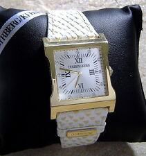 Dyrberg Kern Time Piece Uhr Damenuhr Armbanduhr G / White Armband in Snake Optik