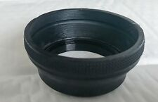 52mm Collapsible Rubber Lens Hood