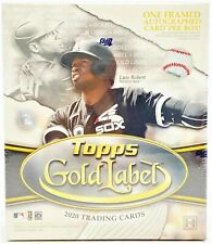 2020 Topps Gold Label Baseball Hobby Box 7 Packs Per Box, 5 Cards Per Pack