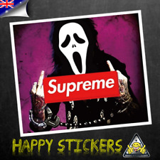 Killer Supreme Luggage Bumper Car  Guitar Skateboard Decal Vinyl Sticker