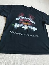 Metallica Master Of Puppets Shirt Size Large Slayer Metal Megadeth