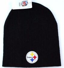 Pittsburgh Steelers NFL Team Apparel Cuffless Knit Team Logo Winter Hat  Beanie 3fa1345c8