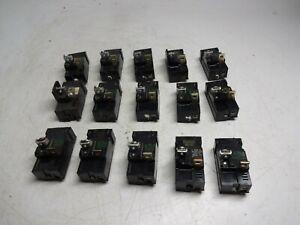 Lot of 15 Pushmatic 120 20 Amp. Single Pole Circuit Breaker P120