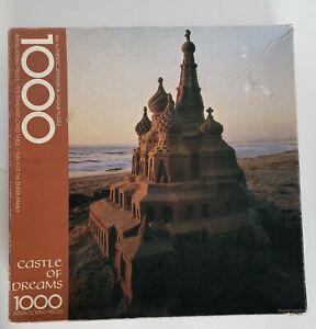 Vintage Springbok Castle Of Dreams Jigsaw Puzzle 1000 Pieces Hallmark