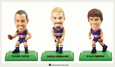 2009 SELECT AFL STARS COLOR FIGURINES TEAM SET (3)--BULLDOGS