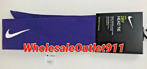 New Nike Dry Purple Head Tie #79