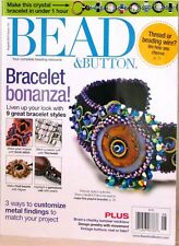 BEAD & BUTTON Magazine #110 BRACELET BONANZA Thread or Beading Wire