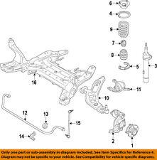 BMW OEM 16-17 X1 Front-Lower Control Arm 31126879843