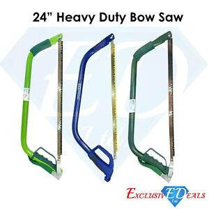 "24"" Heavy Duty Steel Bow Saw / Wood / Trees Blade/ DIY Durable High Quality"