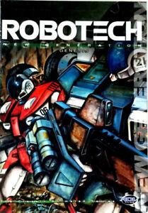 Robotech New Generation : Genesis DVD Episodes 74- 79 - REGION 1 USA RELEASE