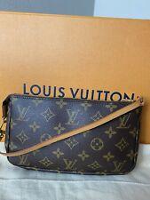 Louis Vuitton Pochette Monogram Accessories Clutch Pouch Bag