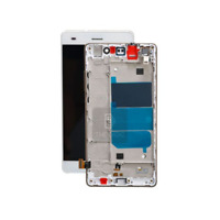 ECRAN LCD + VITRE TACTILE + FRAME CHASSIS pour HUAWEI P9 LITE BLANC + outils