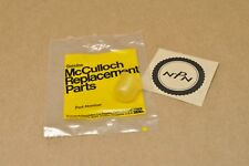 NOS New McCulloch Titan 2100 2300 Trimmer Primer Pump Bulb 223077