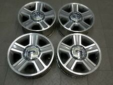 """3554 FORD F150 MACHINED GRAY 17"""" FACTORY OE ALLOY RIMS WHEELS SET (4) 2004-2008"""