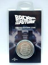 Retour vers le futur silver collector's pièce LIMITED EDITION COIN 0684