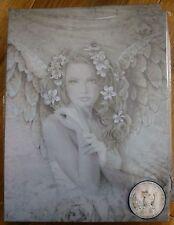 Primrose Canvas Plaque by Jessica Galbreth - mystical, magical, fairy, spiritual