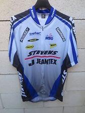Maillot cycliste STEVENS JEANTEX SHIMANO cycling shirt trikot maglia XL