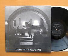 EXP 67 Mozart Bach Handel Quantz Flute Sonatas Peter Lukas Graf ORYX NEAR MINT