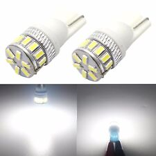 JDM ASTAR 2x T10 White 18-SMD LED License Marker Interior Map Lights Bulbs 194