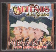 Los Altenos De La Sierra Puros Exitos Con Sentimiento CD New Sealed