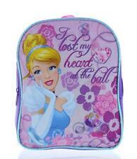 "CUTE Disney Princess Cinderella Mini Toddler 8"" x 10"" Preschool Todder Backpack"