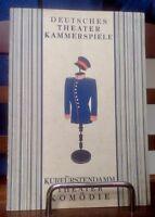 Hauptmann v. Köpenick Konvolut:Erstausgabe,Theaterprogramm Premiere,Statue, Sign