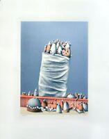 Günther Dollhopf: Ohne Titel (1973). Original-Siebdruck, signiert/nummeriert