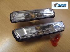 TRANSP WHITE SIDE LIGHT REPEATER INDICATORS SET BMW 3 (E36) 90-00 X5 (E53) 99-03