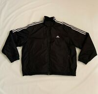 Adidas Long Sleeve 3 Stripes Full Zip Insulated Jacket Men's Size XL