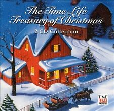 Time-Life Treasury of Christmas by Various Artists (CD, Sep-2001, 2 Discs, Time…