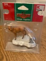 Lemax 2005 Christmas Village Figurine Poly Resin Figurine NIB Deer/Bunny
