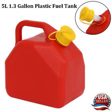 5l Fuel Gas Storage Tank Petrol Container Jerry Cans For Atv Motorbike Car Red