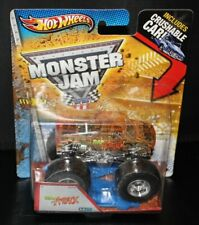 RAP ATTACK X-RAYS CRUSHABLE CAR HOT WHEELS MONSTER JAM TRUCK 1/64 2012 NEW
