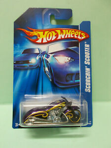 MOTO SCORCHIN' SCOOTER - HOT WHEELS Blister US 1/64 3 inches