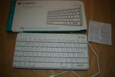 Logitech Wired Keyboard for iPad iPhone Lightning Connector Y-B0006