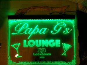 Personalized Custom 400X300mm LED Neon Bar Sign Own Design Advertising