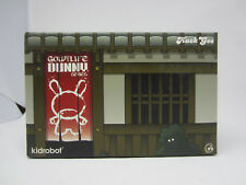 Kidrobot HUCK GEE Gold Life Duo Dunny Kabuki Kitsune Red LE 200 11/10 SEALED