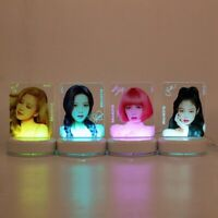 Kpop Blackpink 7 Colors Night Light LISA JENNIE JISOO ROSE Table kCzMt Lizzj