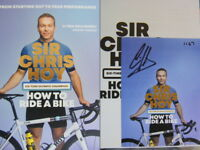 Numbered Signed Photo & How to Ride a Bike by Sir Chris Hoy 1st Edn 2018