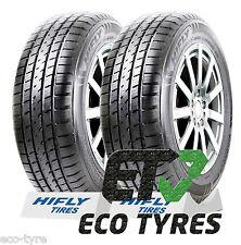 2X Tyres 245 65 R17 111H XL HIFLY HT601 SUV M+S E E 72dB