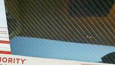 "Carbon Fiber Fiberglass Panel Sheet 24""×54""×1/16"" Glossy One Side 4x4 Twill"