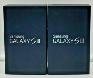 Samsung Galaxy S3 III Black Box & Tray EMPTY BOX ONLY (NO PHONE OR ACCESSORIES)2