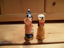 Vintage Goofy & Pluto Figures Disneyland Train Playset Replacement Characters
