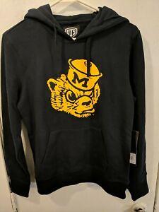 OTS NCAA Michigan Wolverines Women's Fleece Hoodie Logo Small